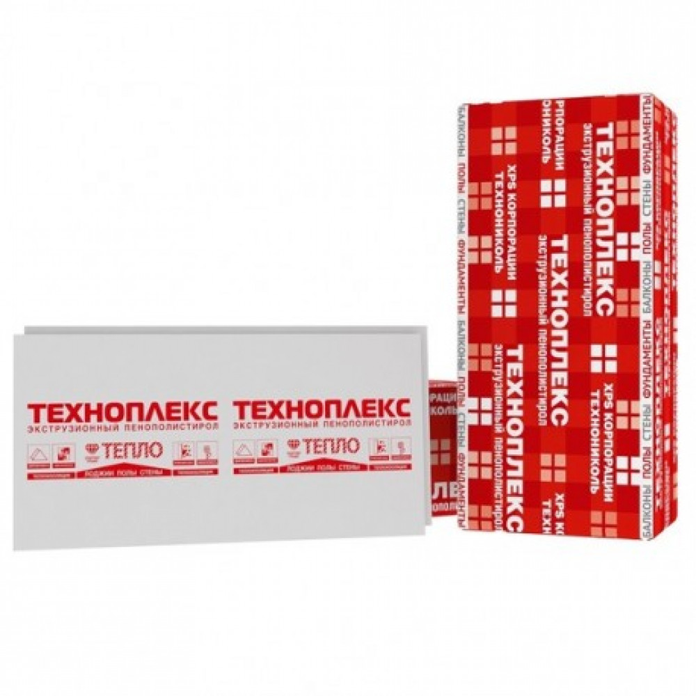Екструдований пінополістирол Техноплекс 35 L 1200*600*20 (0,288м3)