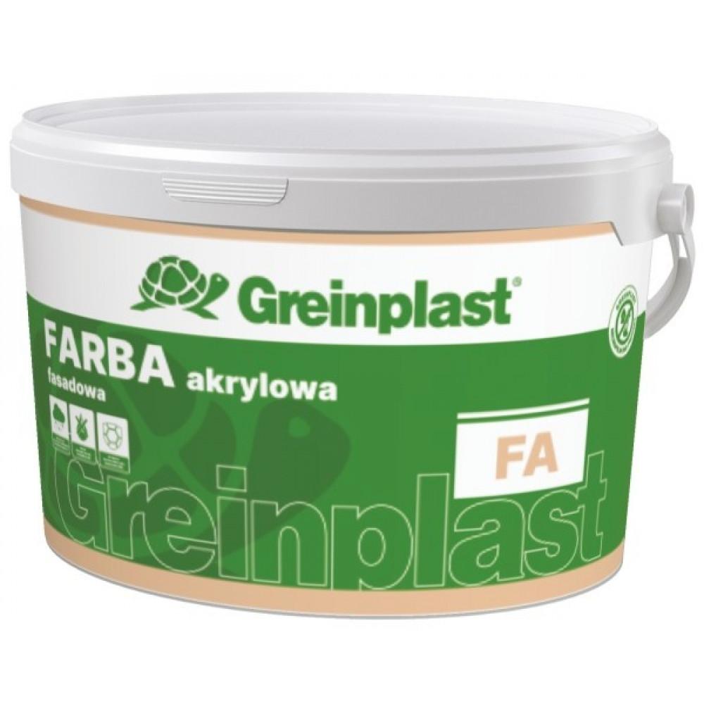 Краска фасадная акриловая BAZA A GREINPLAST 4,5л