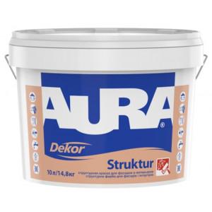 Фарба структурна  AURA Dekor Struktur10л