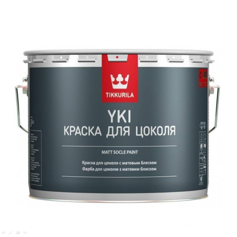 Фарба для цоколя  Юкі базис А  матова TIKKURILA 2.7л