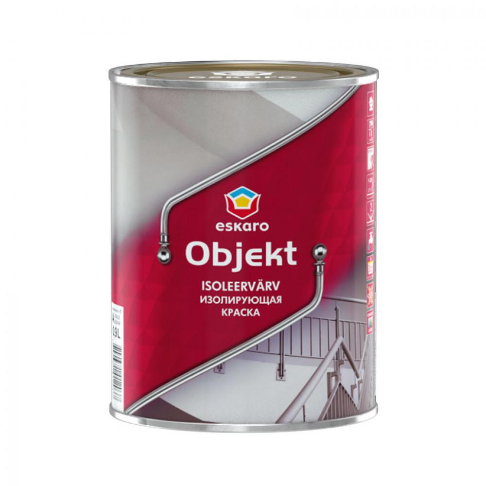 Краска изоляционная латексная Objekt ESKARO 0,9 л