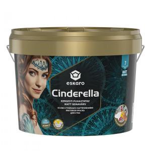 Фарба матова до стелі та стін Cinderella ESKARO 9л