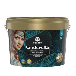 Фарба матова до стелі та стін Cinderella ESKARO 2,7л