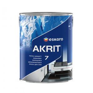 Фарба шовкоматова Akrit 7 база TR ESKARO 2,7л
