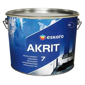 Фарба шовкоматова Akrit 7 ESKARO 9,5л