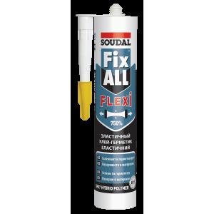 Клей-герметик FIX ALL білий SOUDAL 290мл