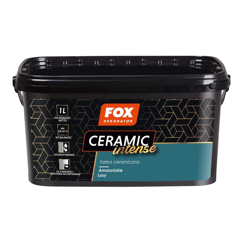 Фарба керамічна 012 Intense Amazonskie Lasy FOX DEKORATOR 1l