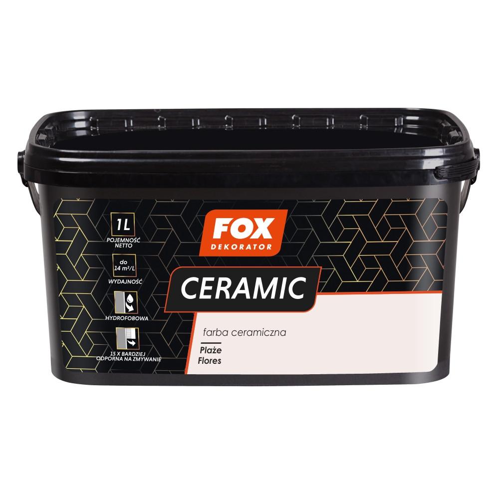 Краска керамическая 001 Plaze Flores FOX DEKORATOR 3l