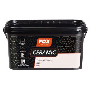 Фарба керамічна 001 Plaze Flores FOX DEKORATOR 1l