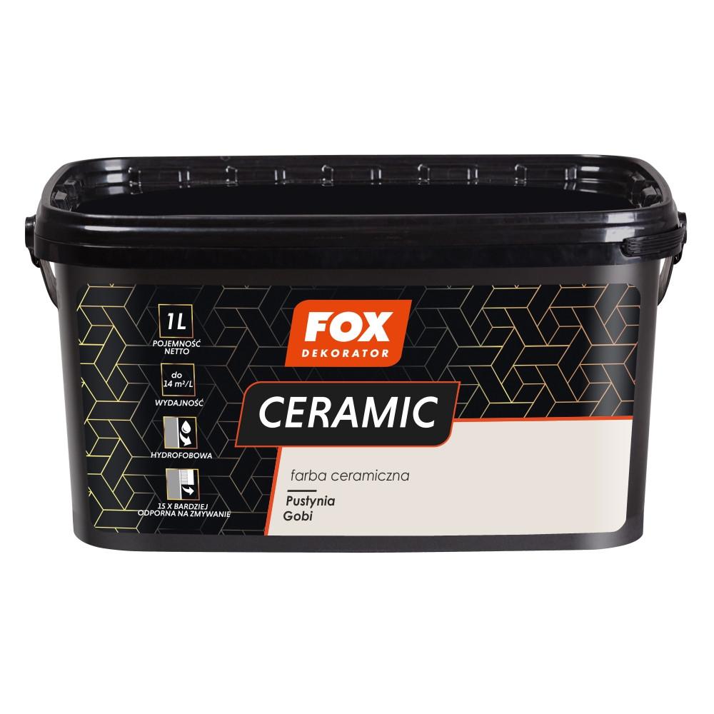 Фарба керамічна 002 Pustynia Gobi FOX DEKORATOR 3l