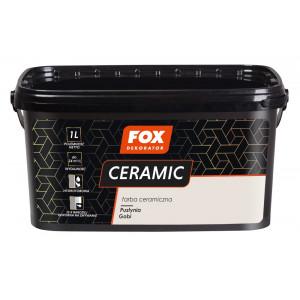 Фарба керамічна 002 Pustynia Gobi FOX DEKORATOR 1l