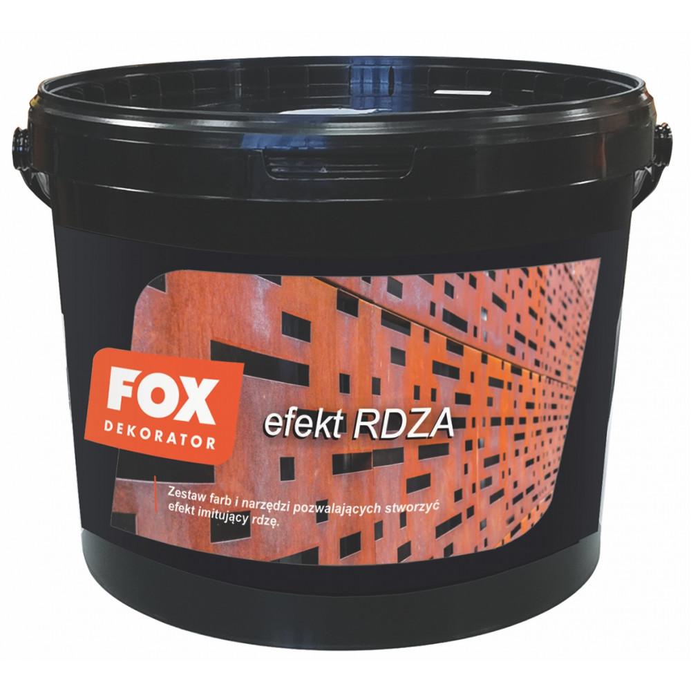 Декоративна штукатурка FOX DEKORATOR EFEKT RDZY UA zestaw na 10m2