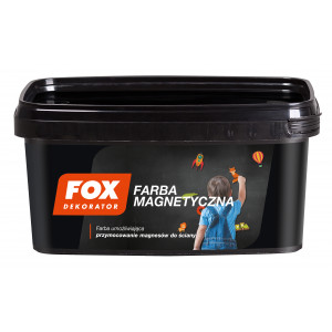 Фарба FOX DEKORATOR Magnetyczna 0.75L