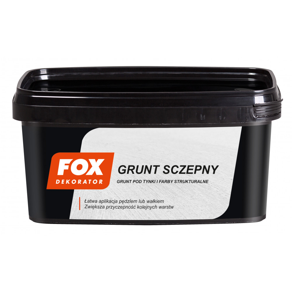 Грунт FOX DEKORATOR GRUNT SCZEPNY UA 1kg