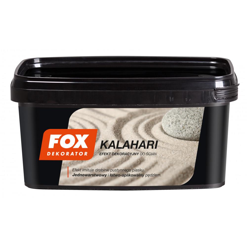 Декоративна структурна фарба FOX DEKORATOR KALAHARI UA 0001sol 1L