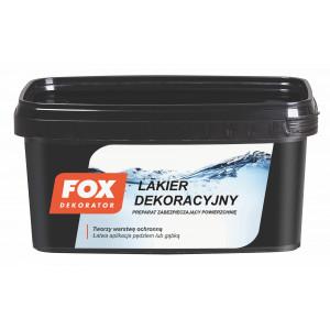 Лак FOX DEKORATOR LAKIER DEKORACYJNY UA mat. 1L
