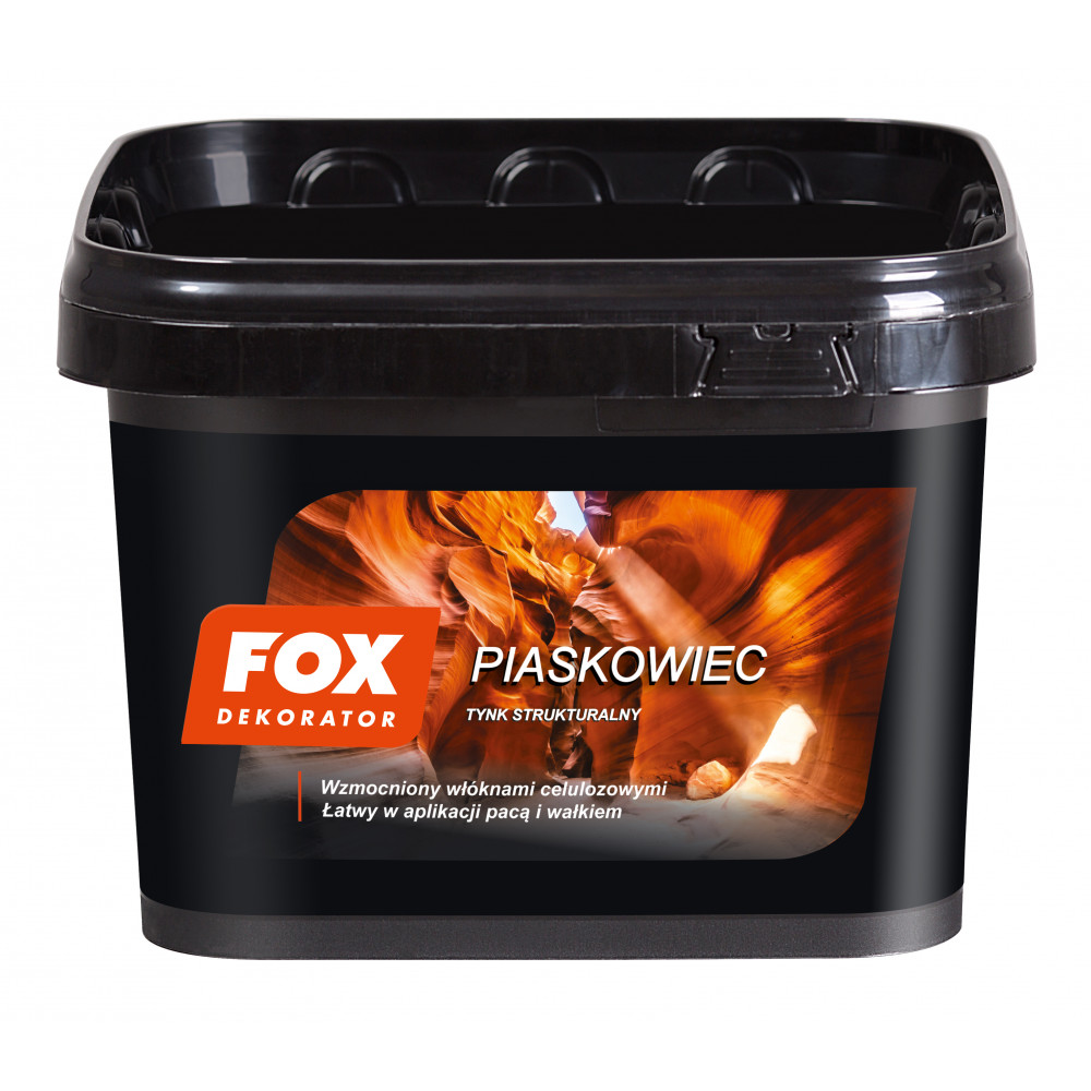 Декоративна штукатурка FOX DEKORATOR PIASKOWIEC UA 16kg