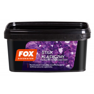 Декоративна штукатурка FOX DEKORATOR STIUK KLASYCZNY UA 1kg