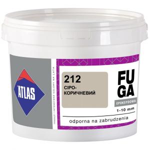 Фуга  ATLAS EPOKSYDOWA  (1-10мм) 212 сіро-коричневий 5кг