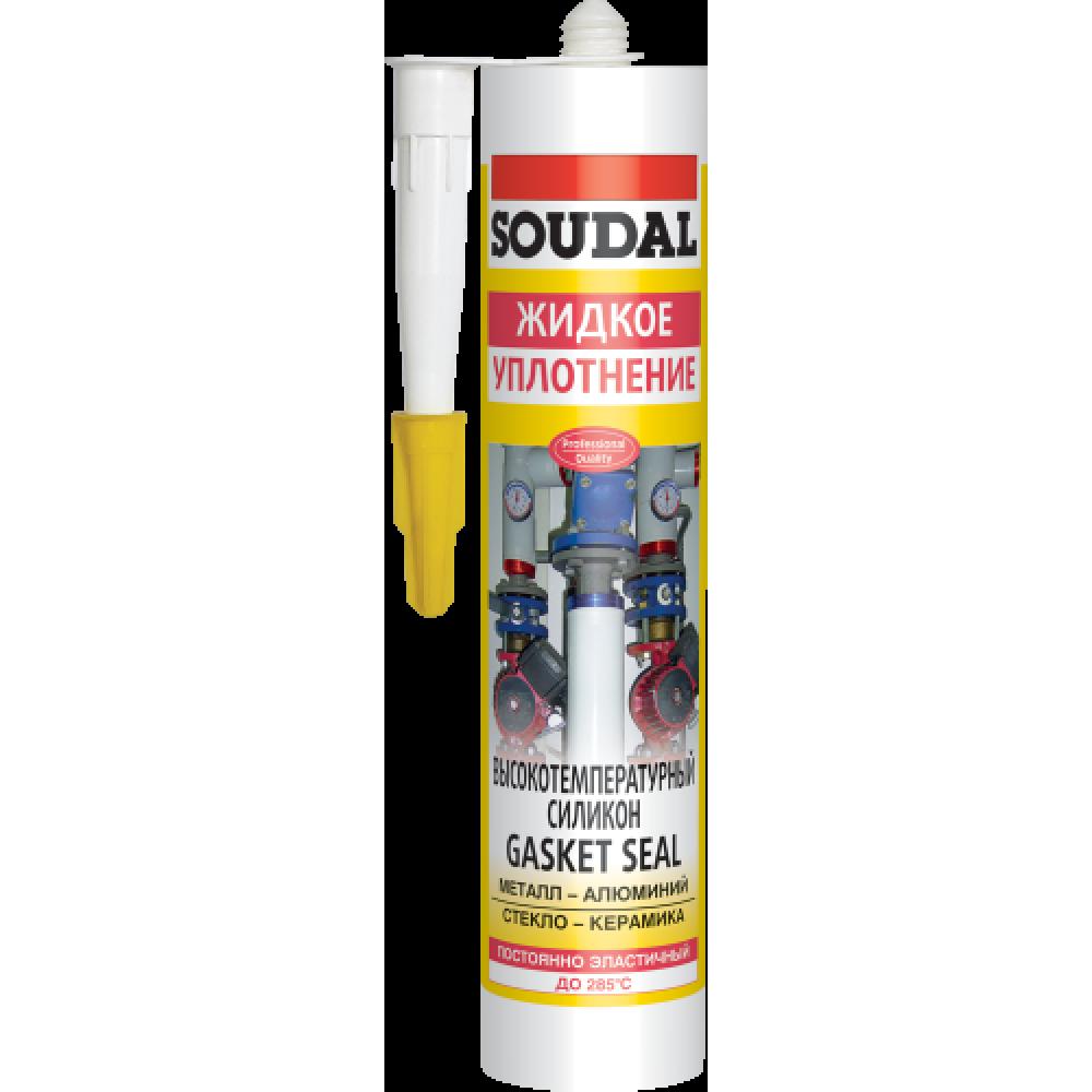 Герметик силіконовий SOUDAL GASKETSEAL/t 285 280мл