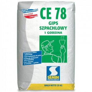 Гіпс шпакльовий СЕ-78 SEMIN 25 кг