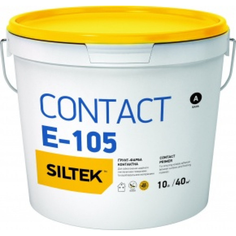 Грунтовка контакт-плюс Е-105 SILTEK 10л