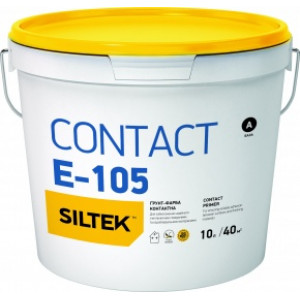 Грунт контакт-плюс Е-105  SILTEK 10л