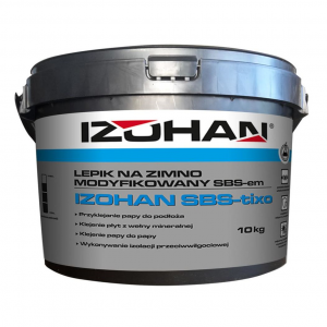 Клей бітумний для рубероїду IZOHAN SBS  10кг.
