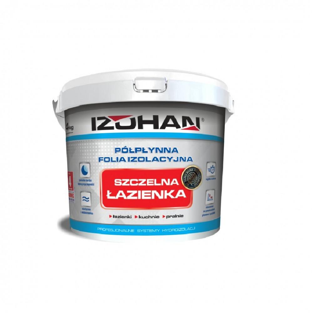 Гидроизоляция для ванных комнат Szczelna lazienka IZOHAN 4кг.