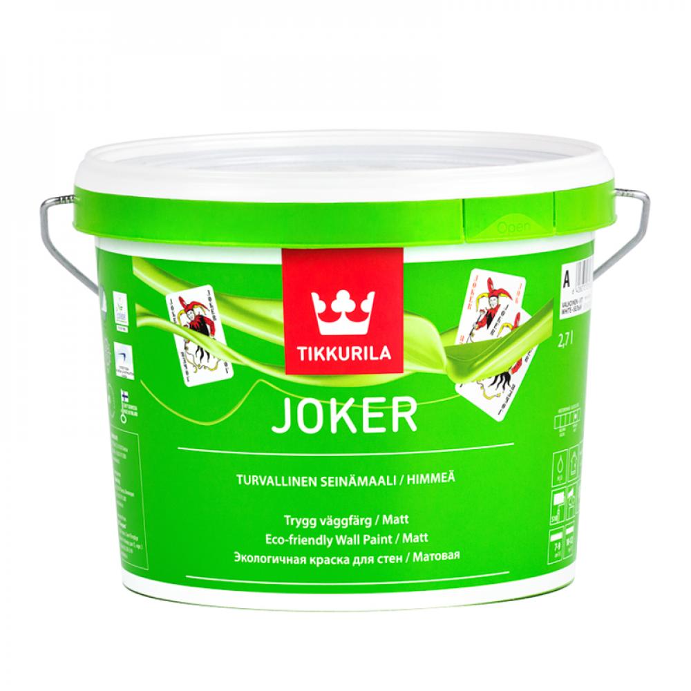 Джокер акриловая краска базис С TIKKURILA 2,7л