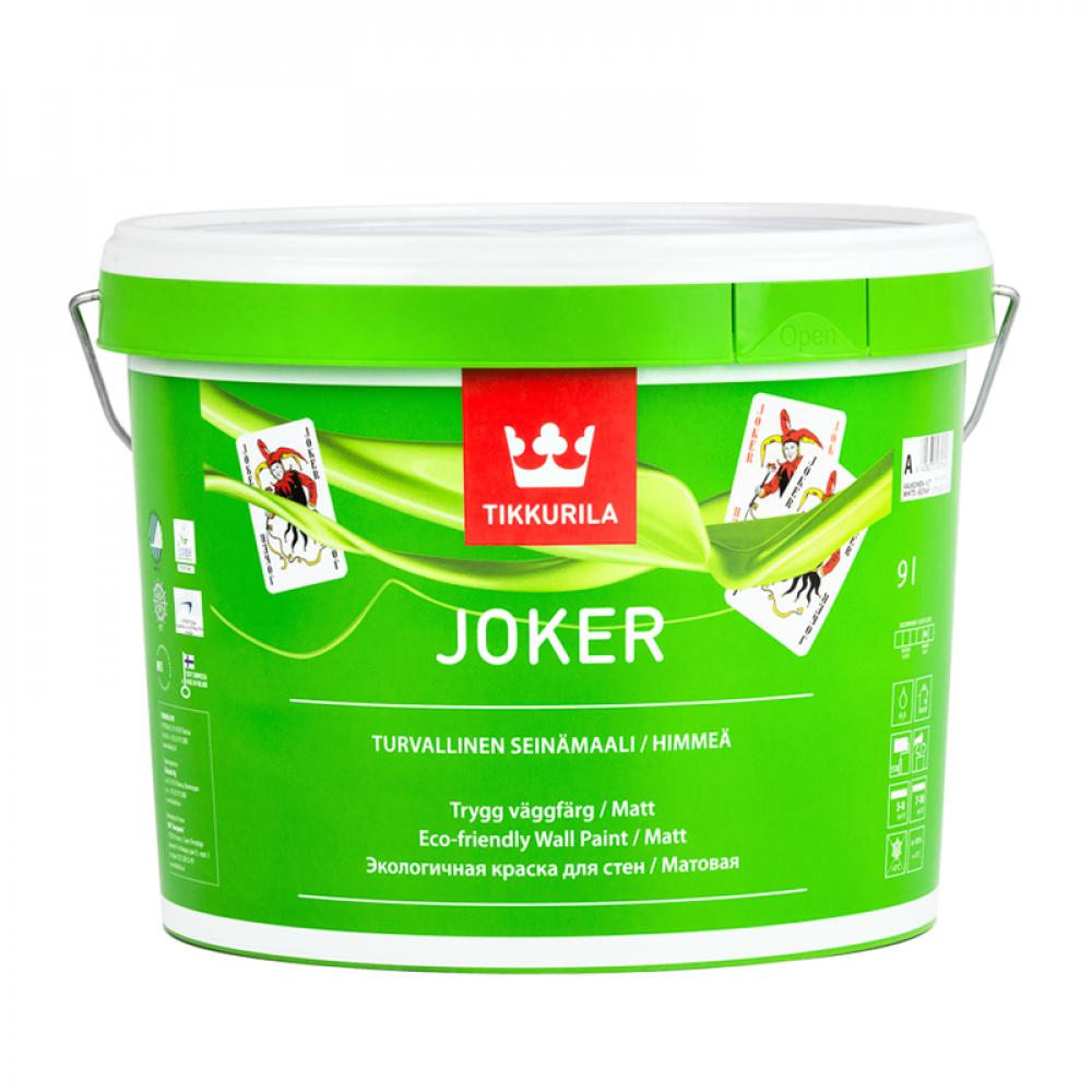 Краска акриловая Джокер TIKKURILA базис А 9л