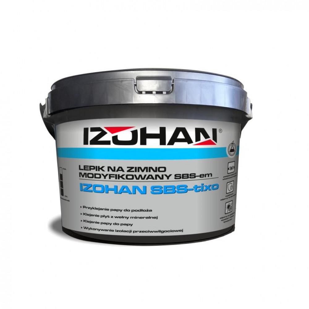 Kлей битумный для рубероида IZOHAN SBS 5кг.