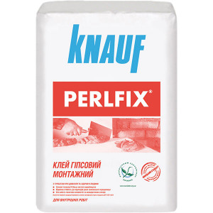 Клей сухий монтажний Перлфікс KNAUF 15 кг