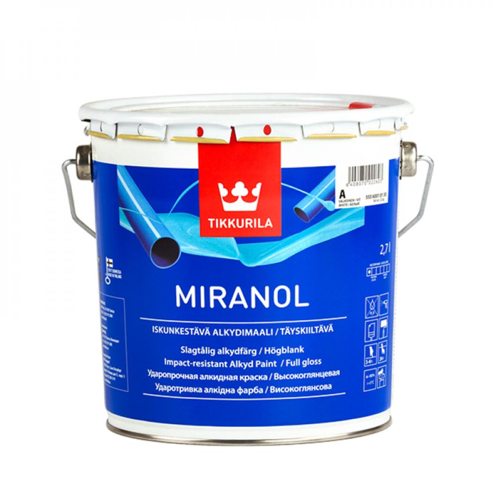 Миранол TIKKURILA эмаль алкидная базис А 2,7л