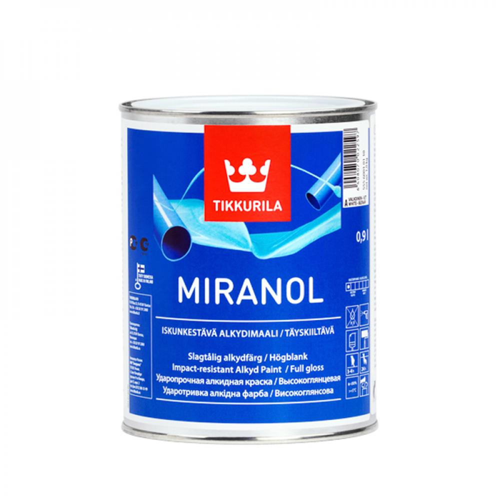 Миранол TIKKURILA эмаль алкидная базис С 0,9 л