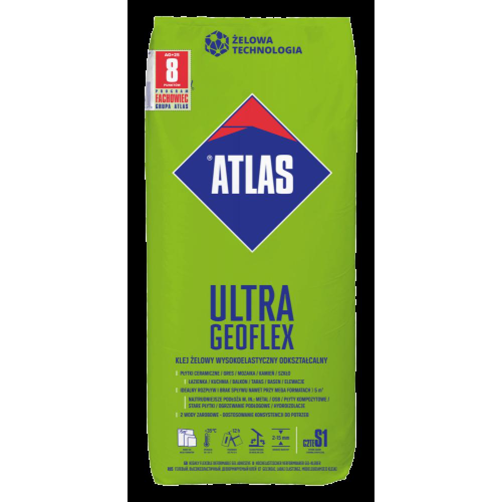Клей для плитки высокоэластичный для деформирующихся оснований ATLAS GEOFLEX ULTRA 25кг
