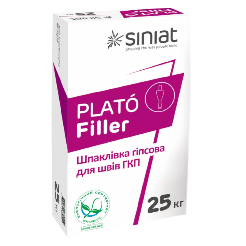 Шпаклівка для швів PLATO Філлер 25кг