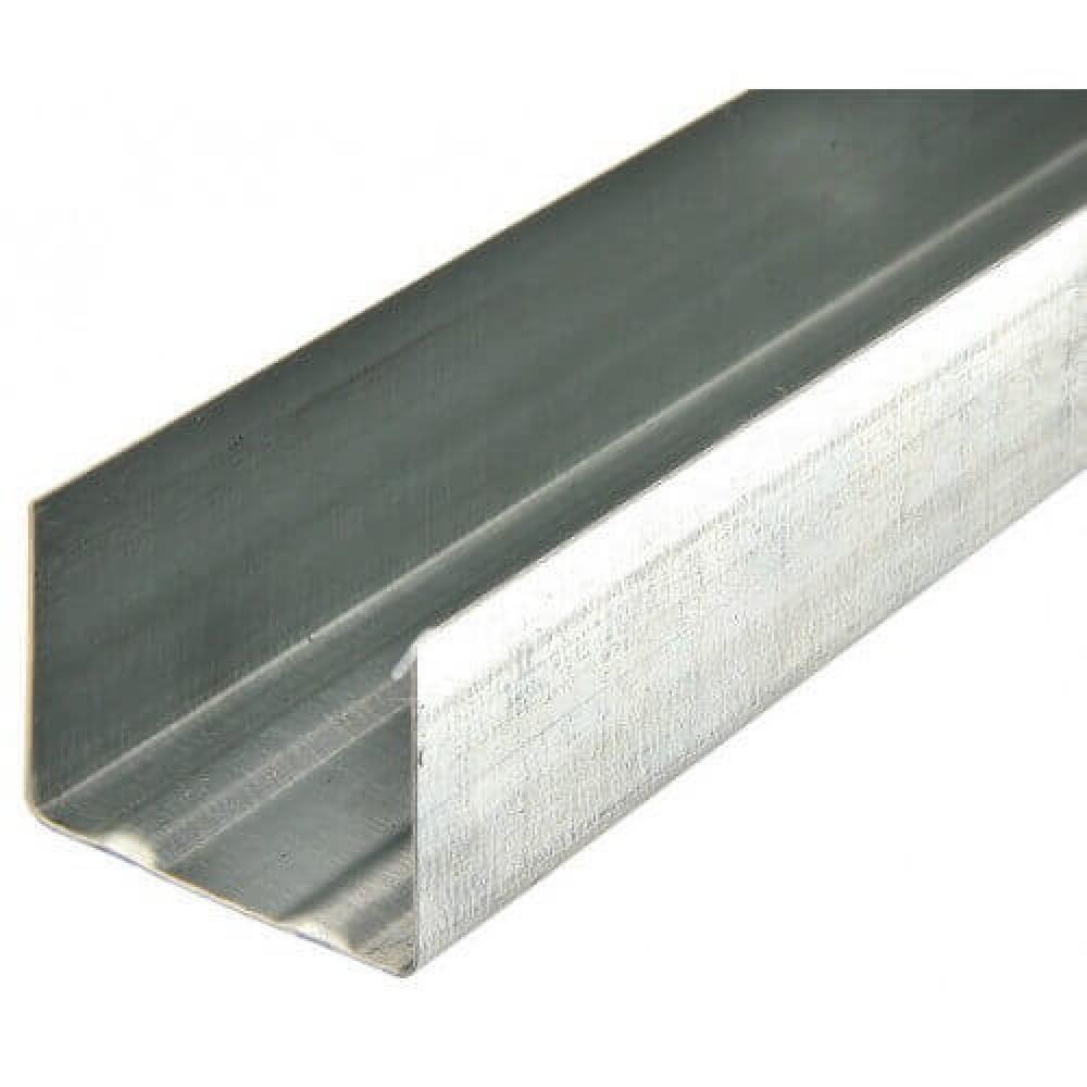 Профиль для гипсокартона UW50 / 0,45 Профсталь 4м
