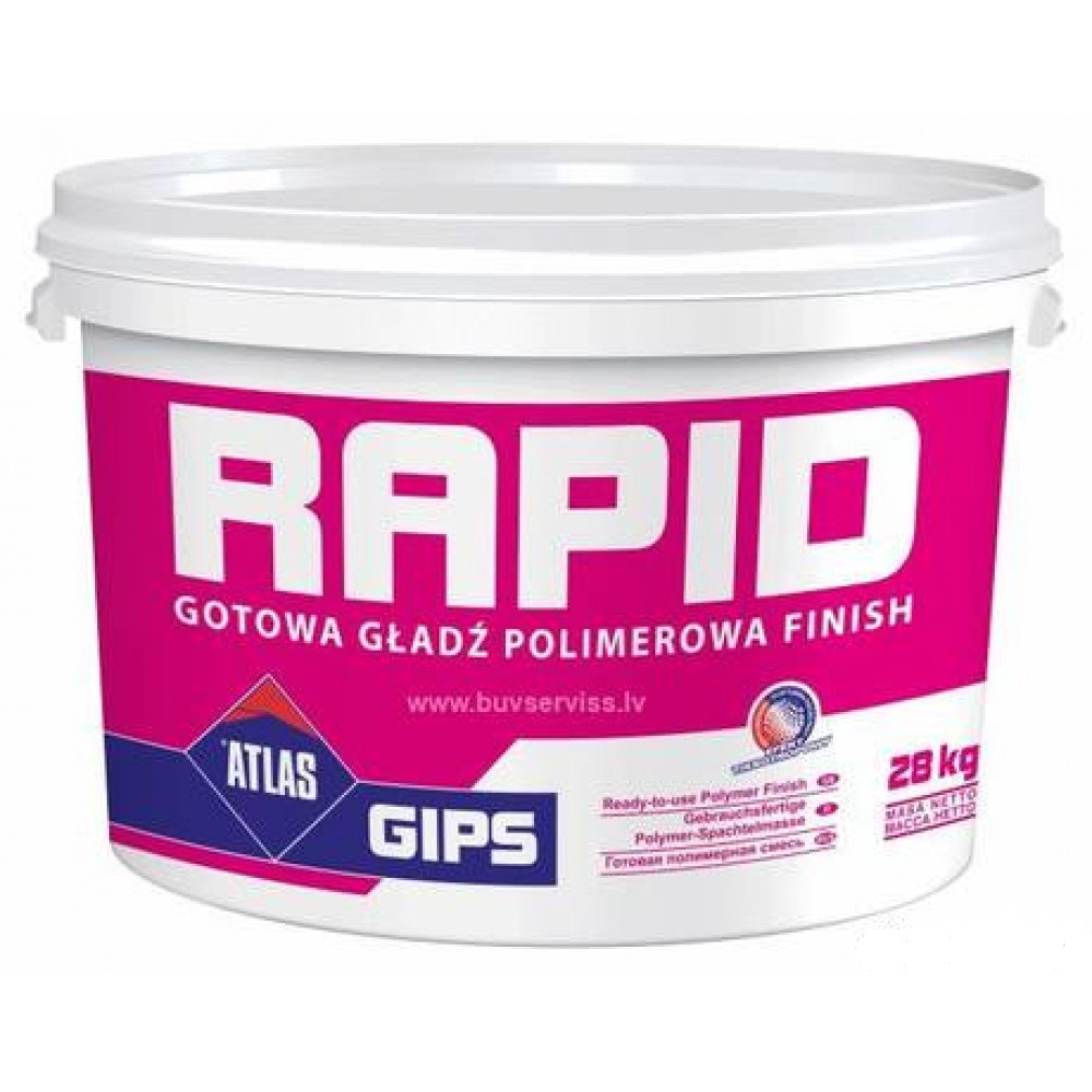 Готова полимерная смесь RAPID АТLAS 28кг