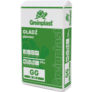 Шпаклівка гіпсова фінішна GG GREINPLAST 20кг
