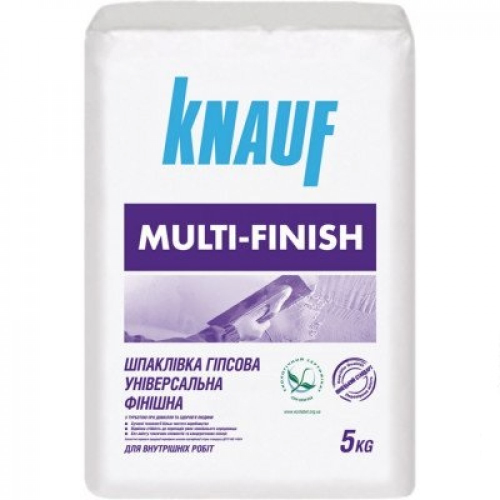 Шпатлівка мультифініш KNAUF 5 кг