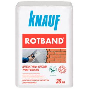 Штукатурка гіпсова Ротбанд KNAUF  30 кг