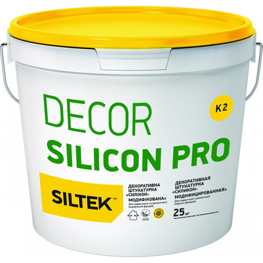 Штукатурка силиконовая баранек 1,5мм SILTEK 25 кг