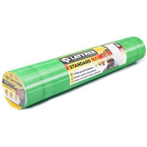 Сітка скловолоконна стандарт.160 5х5 1м х50м зелена