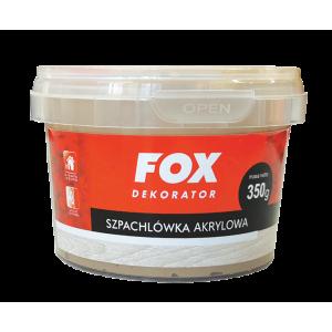 Шпаклівка для дерева FOX DEKORATOR Profesionalna akrylowa 02 sosna 350g