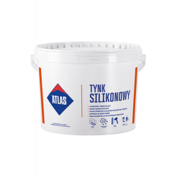 Штукатурка сіліконова (база біла) TYNK (TSAH-N-N15) ATLAS 25кг