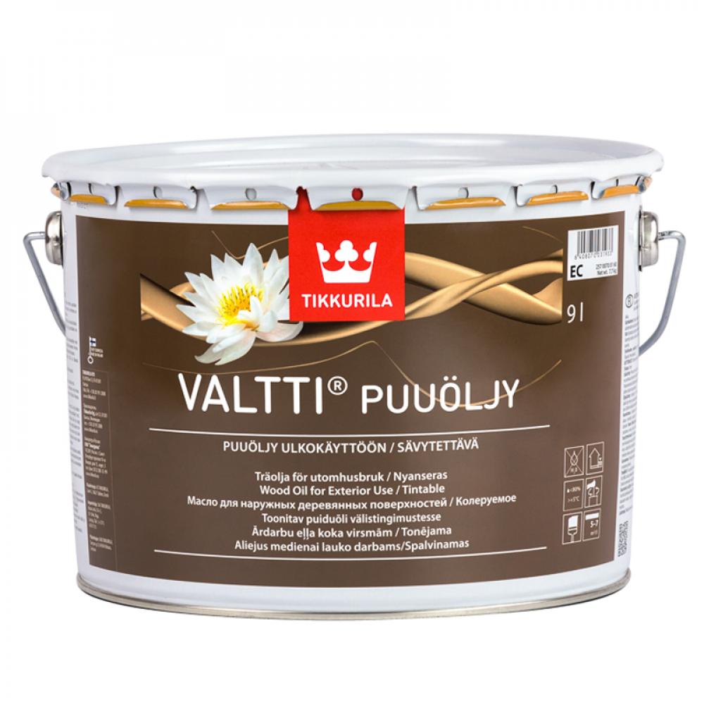 Масло для древесины Валти TIKKURILA базис ЕС 9л