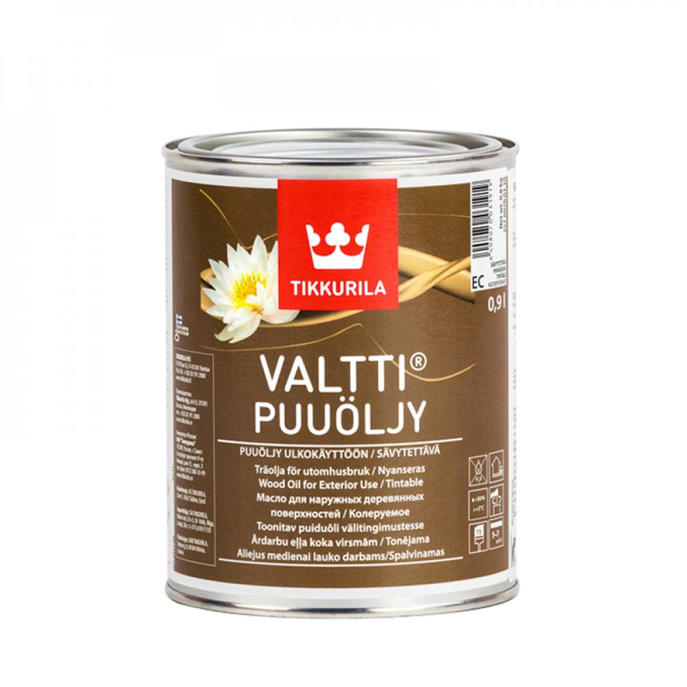 Масло для древесины Валти TIKKURILA базис ЕС 0,9 л