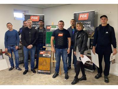 Майстер-клас Нанесення декоративних штукатурок FOX DEKORATOR