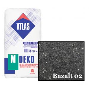 Композиція крихти для мозаїчної штукатурки - ефект BAZALT 02 ATLAS DEKO M ТМ5 16,2кг.